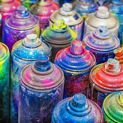 Metallic Spray Paint
